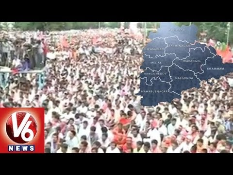 Telangana Movement - News In Urdu 10 March 2014 11 AM