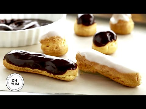Professional Baker Teaches You How To Make ECLAIRS!