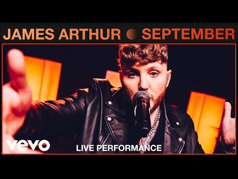 James Arthur - September (Live)   Vevo Studio Performance