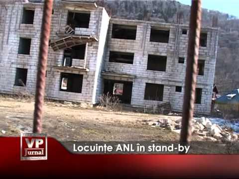 Locuinţe ANL în stand-by