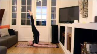 Yoga @ Home part 1: Sarvangasana