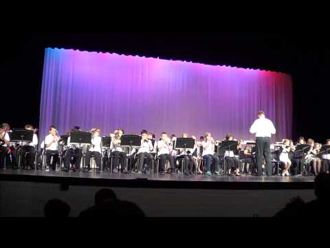 stafford intermediate school band concert 2012 all 8 songs