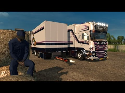Scania R500 TYSTERMAN EN PRONK COMBO