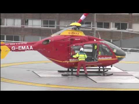 helipad - The new Queen Elizabeth hospital opens its doors to patients on 16 June 2010. The new helipad for the air ambulance is located on the multi-storey car park o...