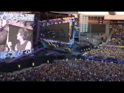 One Direction - Little Things (Horsens, Denmark) (видео)
