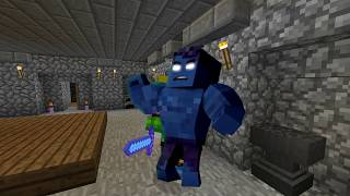 THE DIVINE SWORD!? - Scramble Craft (Minecraft)