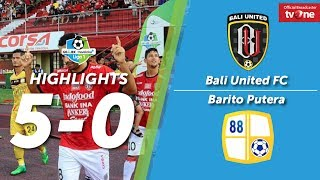 Video Bali United Vs Barito Putera: 5-0 All Goal & Highlights MP3, 3GP, MP4, WEBM, AVI, FLV Mei 2018