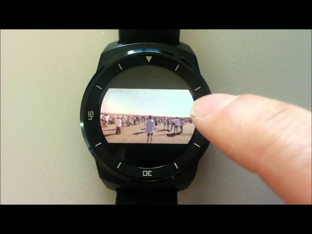 Video player for Android Wear smartwatches, powered by YouTube