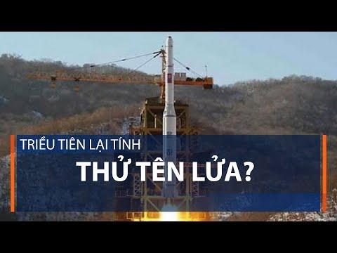Triều Tiên lại tính thử tên lửa? | VTC1 - Thời lượng: 41 giây.