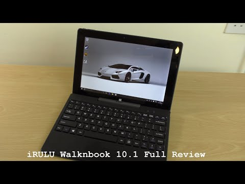iRULU Walknbook Windows 10 Notebook - Review & Gaming Test!