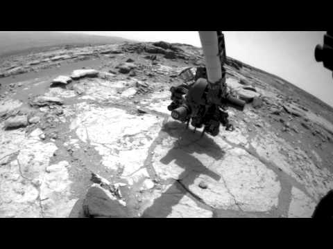 Curiosity drills into its second rock, sol 279