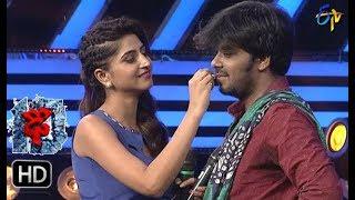 Video Sudheer | Varshni  Funny Task | Dhee 10 | 1st November 2017| ETV Telugu MP3, 3GP, MP4, WEBM, AVI, FLV Januari 2018
