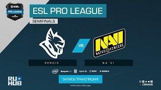 Heroic vs Na`Vi - ESL Pro League S7 Finals - map1 - de_cache [yXo, ceh9]