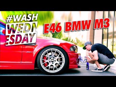 2004 BMW e46 M3 Wash + Drive | WASHWEDNESDAY