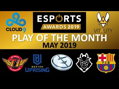The GREATEST Esports Play?? *VOTE NOW* Esports Awards Play Of The Month MAY 2019