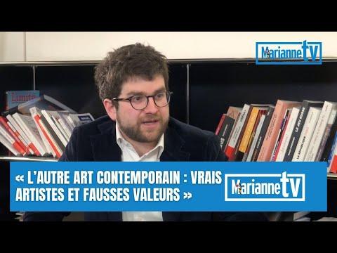 «L'autre art contemporain: vrais artistes et fausses valeurs» avec Benjamin Olivennes
