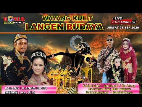 Live Malam WAYANG LANGEN BUDAYA. Lakon' CUNGKRING GUGAT WARISAN. Jum'at 25 September 2020