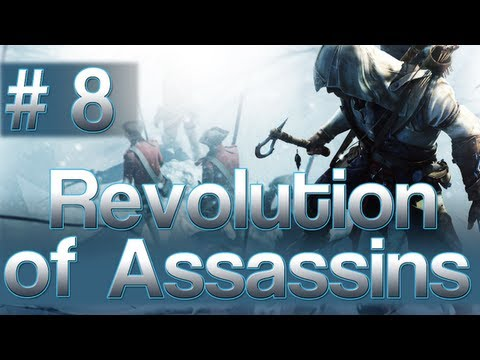 [8] Revolution of Assassins (Let's Play Assassin's Creed 3 w/ GaLm)