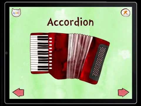 Jazzy ABC Musical Instruments for kids