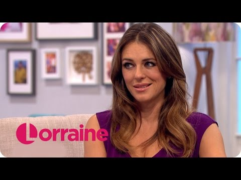 Elizabeth Hurley On The Royals, White Trousers And Her Son | Lorraine