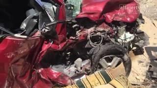 ثلاث إصابات في حادث سير مروع جنوب جنين