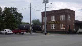 Hartselle (AL) United States  City new picture : CSX Freight Passing L&N Freight Depot in Hartselle, Alabama