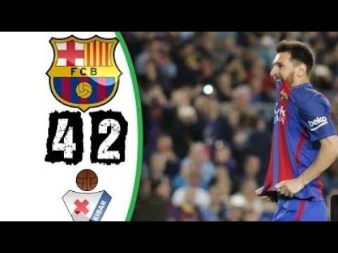 FC Barcelona vs Eibar 4-2  All Goals and Highlights  La Liga 21/05/2017 HD