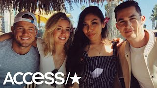 Colton Underwood & Cassie Randolph Pack On The PDA In Hometown Date Redo! | Access