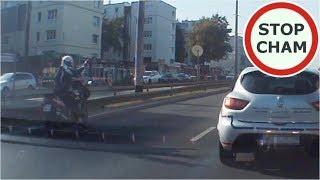 Kolizja i ucieczka motocyklisty z miejsca zdarzenia