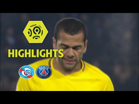 RC Strasbourg Alsace - Paris Saint-Germain (2-1) - Highlights - (RCSA - PARIS) / 2017-18