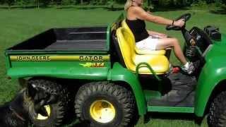4. 2003 John Deere gator 6X4