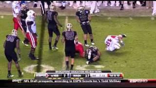Mason Foster. vs Nebraska Holiday Bowl vs  ()