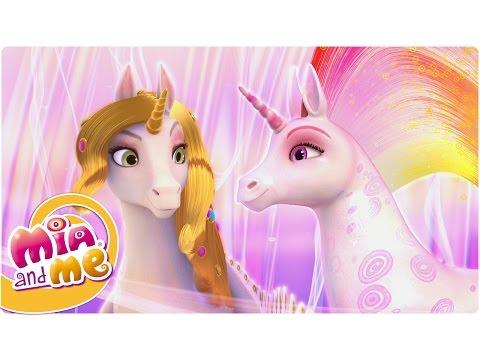 """gli unicorni magici di centopia - """"mia and me"""""""