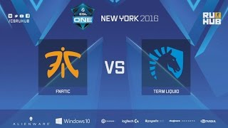 fnatic vs Liquid, game 1