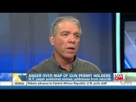 Blogger turns tables on gun map paper's employees - 12/27/12