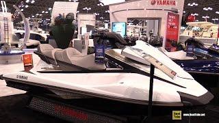 8. 2015 Yamaha WaveRunner VX Cruiser Jet Ski - Walkaround - 2015 New York Boat Show