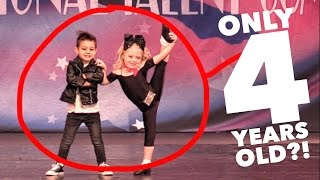 4 YEAR OLDS PERFORMING UNREAL DANCE ROUTINE! AMAZING!!