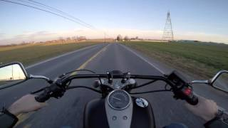3. 2013 Honda Shadow 750 Phantom Riding Review