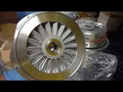 Thermo Exactive Orbitrap Service & Repair Part 2 __main turbo service continued