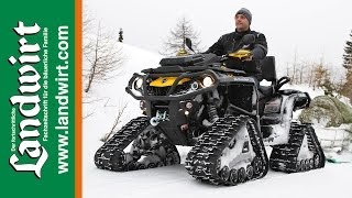 9. Can-am Outlander 1000 mit Apache Tracks
