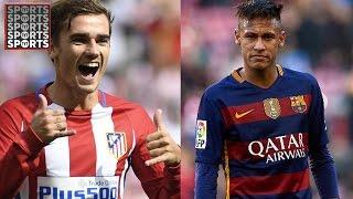 FIFA What If Team Nike [Ronaldo, Neymar] vs. Team Puma [Aguero, Griezmann], neymar, neymar Barcelona,  Barcelona, chung ket cup c1, Barcelona juventus