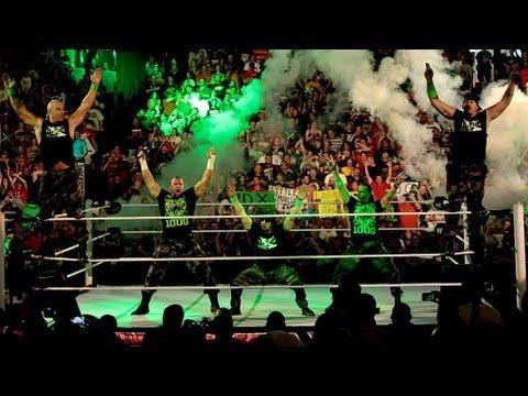 DX reunites on Raw's 1,000th episode: Raw, July 23, 2012 (видео)
