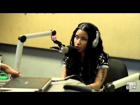 Nicki Minaj Exclusive Interview; Talks Pink Print + Emotion Behind It