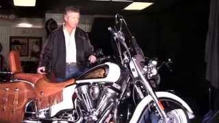 2. Vintage Indian Chief Motorcycle - 2013 Indian Chief Vintage LE