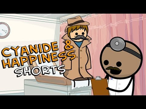 The Tall Boys Visit the Doctor - Cyanide & Happiness Shorts - Thời lượng: 81 giây.