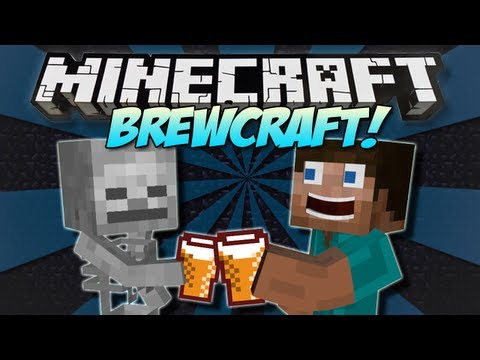 Minecraft | BREWCRAFT! (Moonshine and Cider!) | Mod Showcase [1.4.7]
