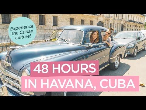 Fun Things To Do in Havana, Cuba in 48 Hours - Old Havana, Hotel Nacional de Cuba - TRAVEL VLOG