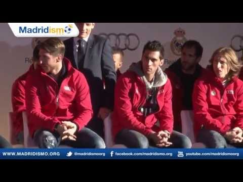 madrid - The last half of the video is the presentation and the delivery of each car to each player. (You may want to fast forward to that.) This is the last video we...