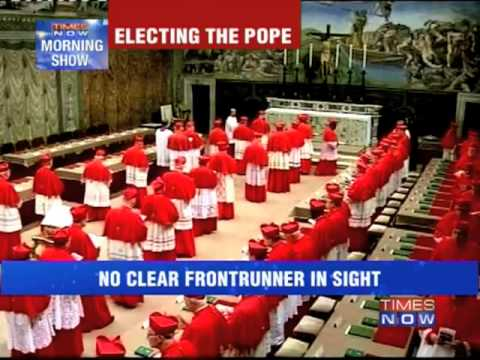 Papal conclave: Voting inconclusive on day 1