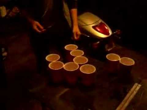 Beer Pong Pump Method